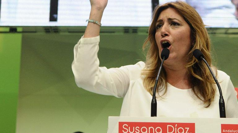 Se cumple un año de la llegada de Susana Díaz a la Junta