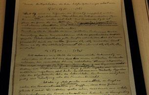 Ver vídeo  'Se exhibe el manuscrito original en el que Einstein enunció la Teoría General de la Relatividad'