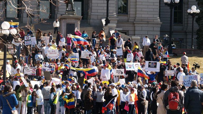 Gobierno y oposición siguen su pulso en las calles de Venezuela