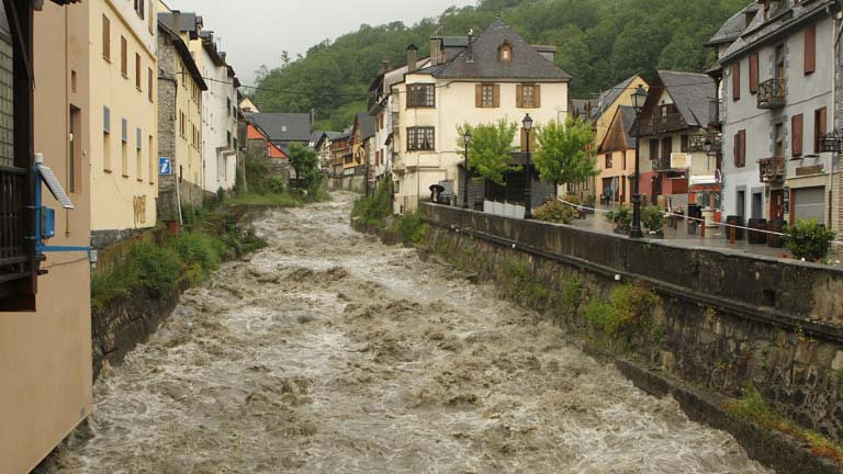 Se moderan las precipitaciones en el Pirineo