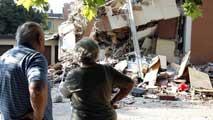Se suceden las réplicas en la región de Emilia Romagna, Italia