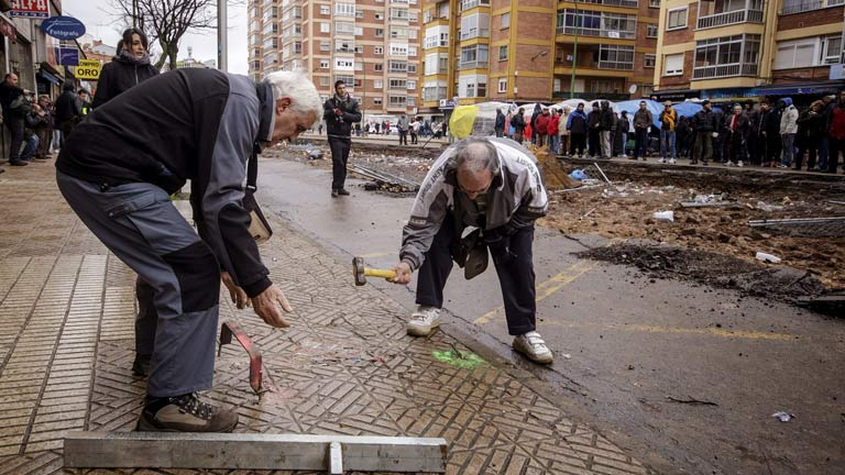 El Ayuntamiento de Burgos rechaza paralizar definitivamente las obras de Gamonal