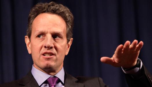 El secretario del Tesoro de EE.UU., Timothy Geithner.