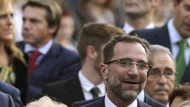 El secretario de Estado para la UE, Íñigo Méndez de Vigo recibirá este lunes al embajador de EE.UU. en España para pedirle explicaciones por el supuesto espionaje