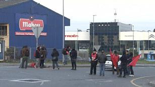 Ver vídeo  'El sector industrial respalda fuertemente la huelga'