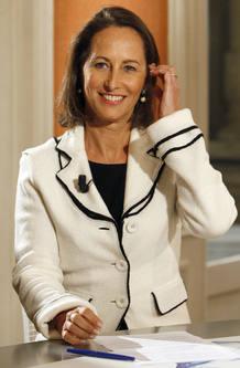 La ex candidata socialista francesa a la Presidencia, Ségolène Royal.