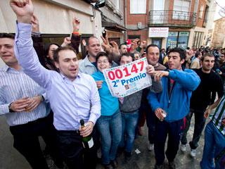 Ver v?deo  'El segundo premio de la Lotería de Navidad deja casi sesenta millones en Roa de Duero