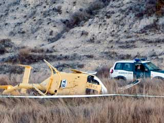 Ver v?deo  'Seis muertos en accidente helicóptero en Teruel'