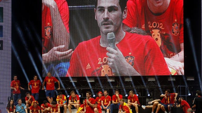 La selección española,