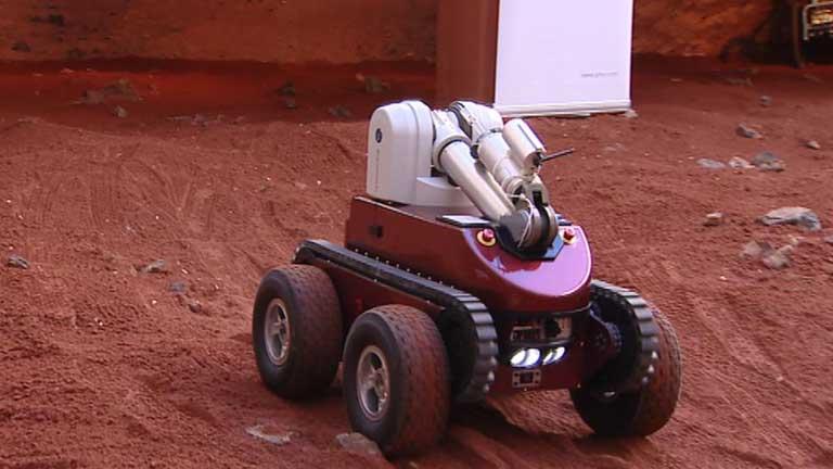 Prototipos de robots en la semana europea de la robótica