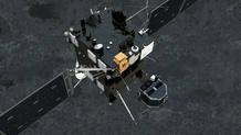 Separación de la sonda Philae de Rosetta, para posarse en el cometa 67P.