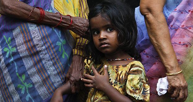 Ser niña en la India aumenta el riesgo de desnutrición
