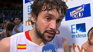 Ver v&iacute;deo  'Sergio Llull: &quot;Jugar los JJ.OO. es un sue&ntilde;o hecho realidad&quot;'