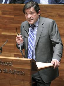 Javier Fernández Asturias debate de investidura