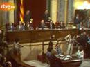 Arxiu: Sessió de constitució del Parlament de Catalunya restablert (1980)