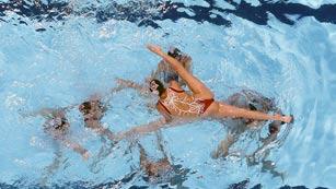 Ver vídeo  'Sexta medalla de la sincronizada española en los Mundiales de Natación'