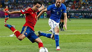 Y en el sexto partido... Xavi