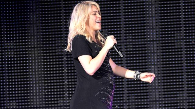 Shakira presume de embarazo