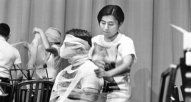 Siete felicidades y ocho tesoros de Yoko Ono en Bilbao