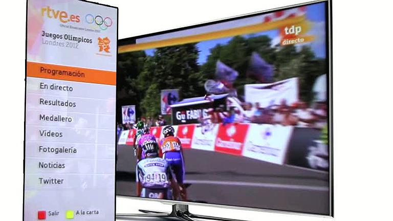 Sigue los Juegos Olímpicos de Londres en TV conectadas