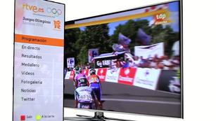 Ver vídeo  'Sigue los Juegos Olímpicos de Londres en TV conectadas'