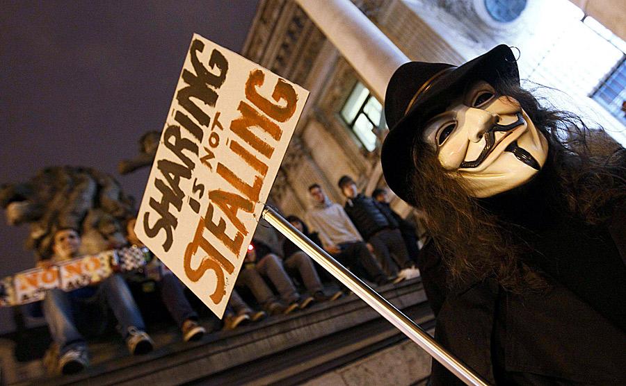 Siguen las protestas contra el proyecto de ley ACTA