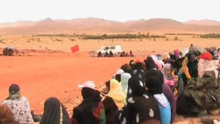 Siguen las protestas en Marruecos contra la empresa que explota una mina de plata