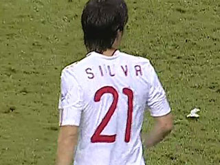 Ver vídeo  'Silva consigue el primero de España (2-1)'