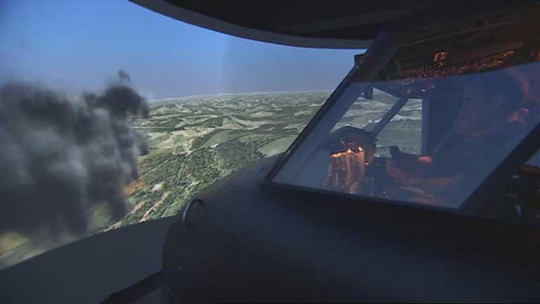 Informe Semanal - Simuladores de combate... Defensa virtual