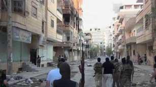 Ver vídeo  'Siria acusa a Turquía de armar a los rebeldes mientras los combates prosiguen en Alepo'