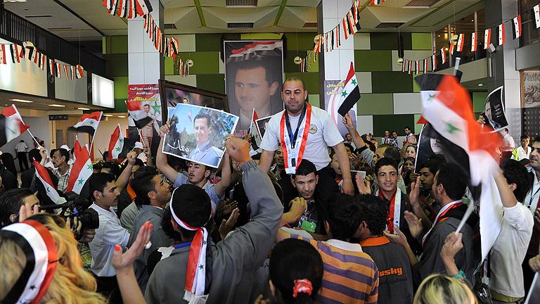 Siria elige presidente en medio de la guerra civil