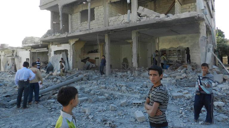 Cruz Roja, desbordada por el empeoramiento de la situación humanitaria en Siria