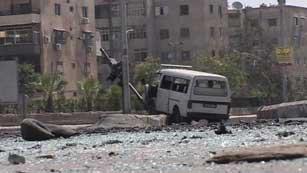 Ver vídeo  'Situación tensa y confusa en Damasco'