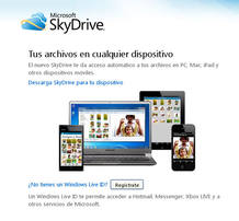 SkyDrive pasa a estar disponible también para iPhone y iPad en forma de aplicación nativa