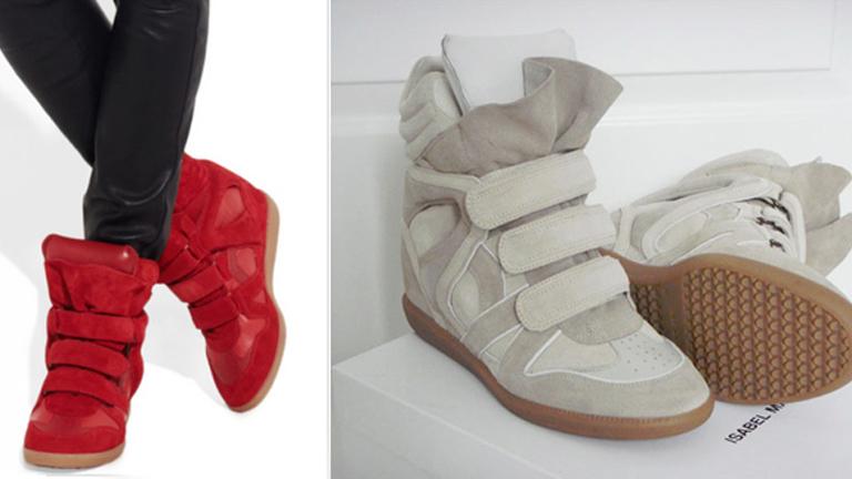 Sneakers con cuña, el calzado del otoño