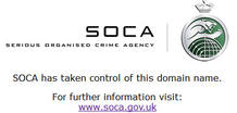 Un mensaje de SOCA en la web rnbxclusive.com anuncia que han tomado el control de la página de descargas