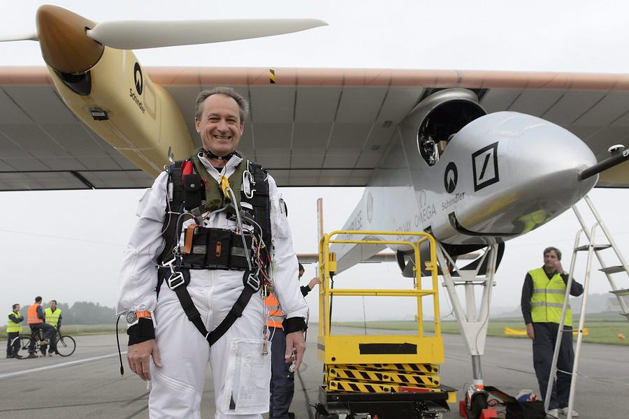 El Solar Impulse llega a Madrid