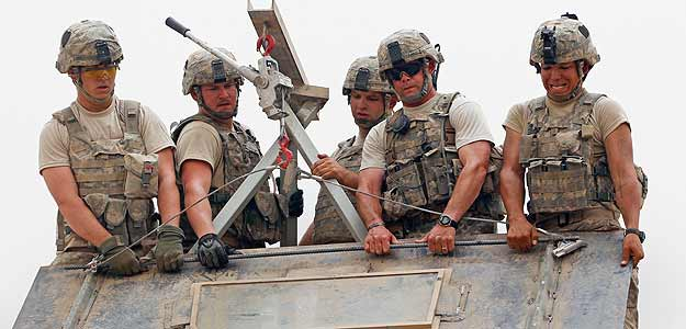 Soldados de EE.UU. en Kandahar (Afganistán)