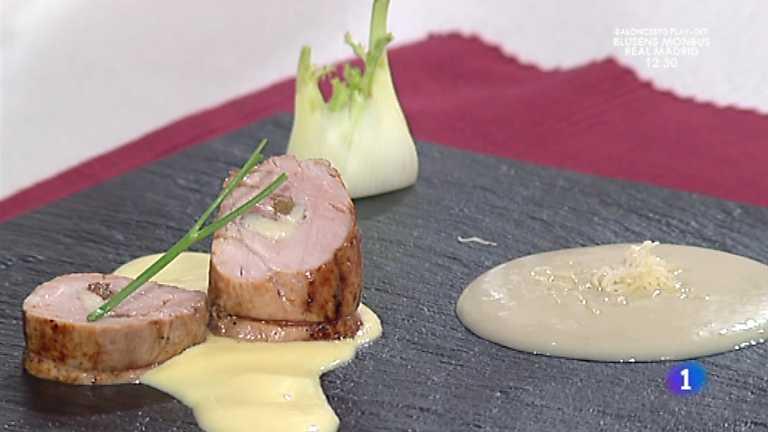 Cocina con Sergio - Solomillo asado con espuma de patata