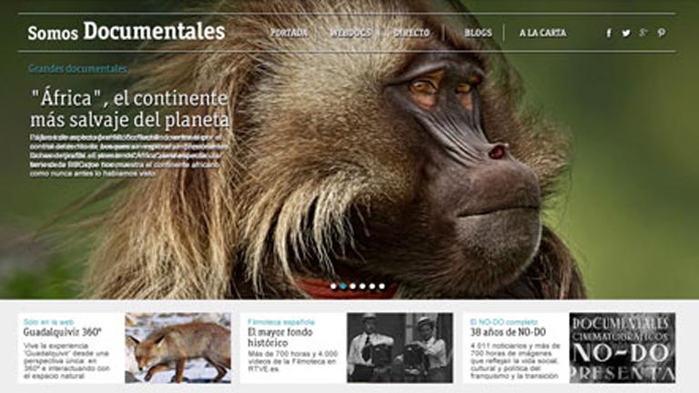 """""""Somos documentales"""", cinco mil documentales accesibles para todos en la web RTVE.es"""