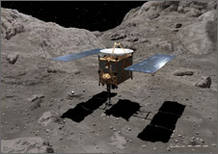 La sonda Hayabusa ha aterrizado en el desierto australiano de Woomera