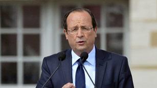 Ver vídeo  'Los sondeos dan a Hollande la victoria en la primera vuelta de las elecciones'