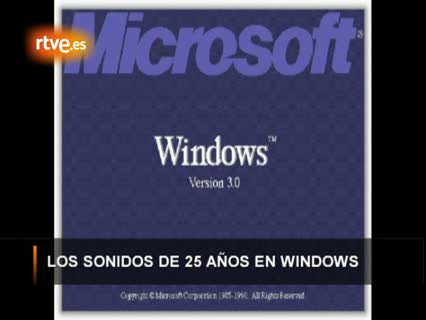 Ver vídeo  'Los sonidos de Windows (1985 - 2000)'