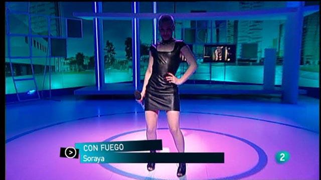 """Para Todos La 2 - Actuacíón: Soraya """"Con Fuego"""""""