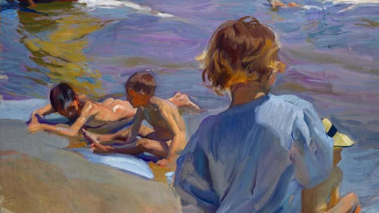 Sorolla, muestra de su pasión por el mar en el Museo Sorolla de Madrid