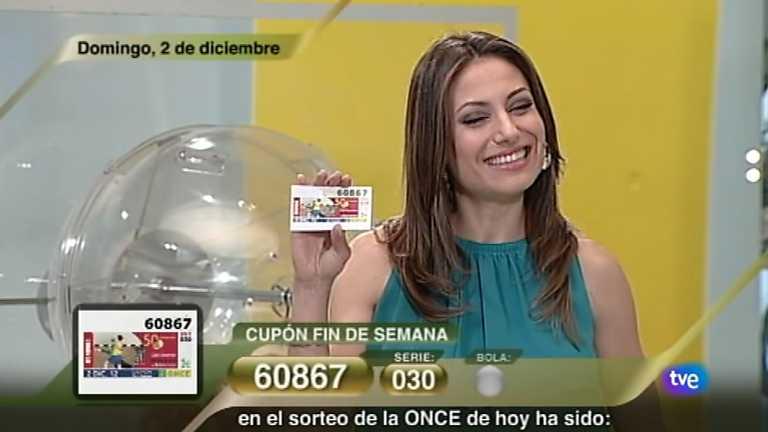 Sorteo ONCE - 02/12/12
