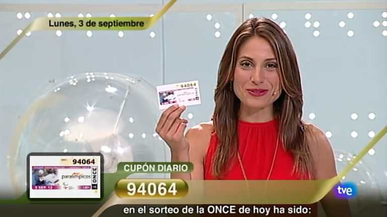 Sorteo ONCE - 03/09/12