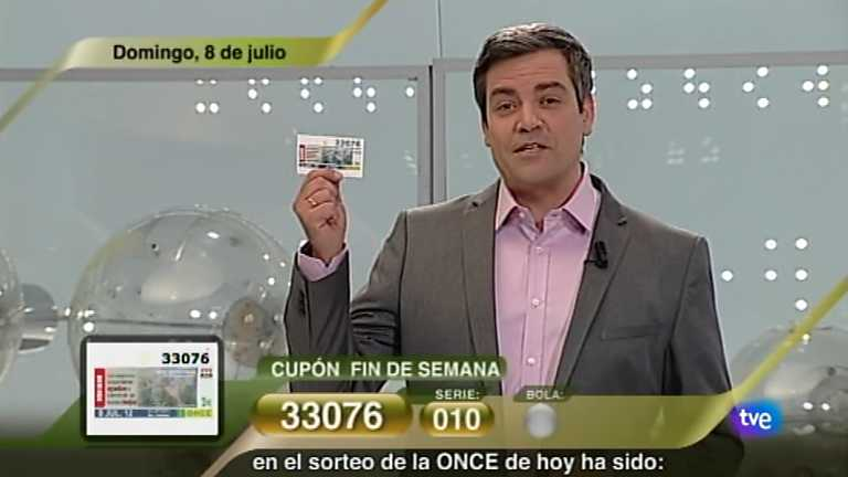 Sorteo ONCE - 08/07/12