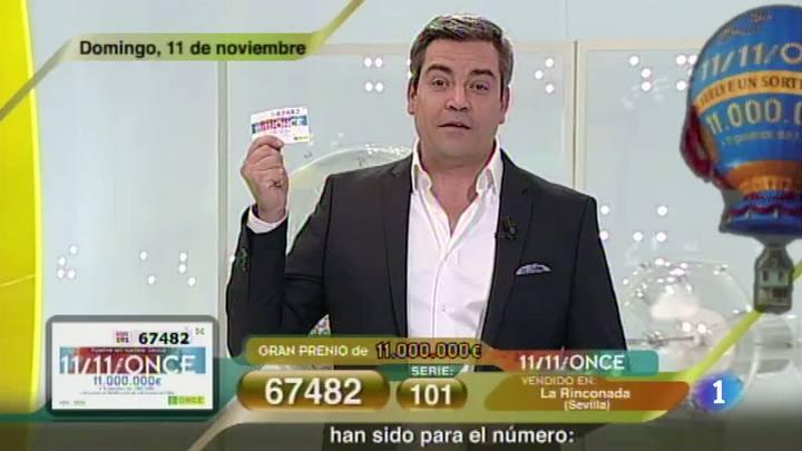 Sorteo ONCE - 11/11/12