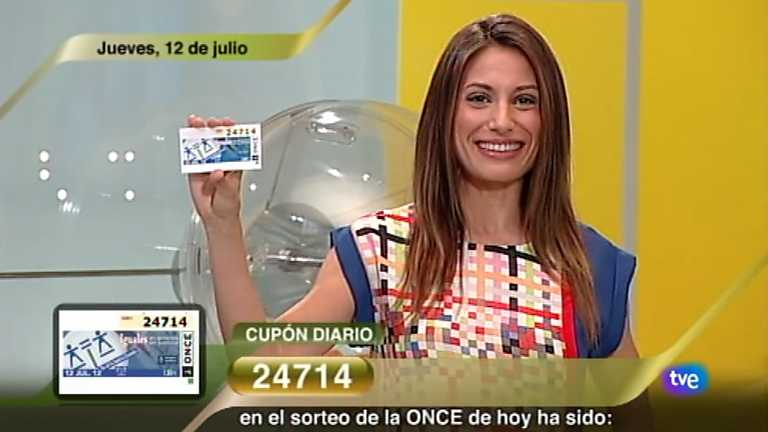 Sorteo ONCE - 12/07/12